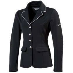 EQUI-THÈME Veste de concours équitation femme Soft Light - Noir ou Marine