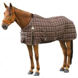 EQUI-THÈME Couverture d'écurie pour cheval - Colorado Belly Belt - Hiver 400 g/m² - Résistante 1200 Deniers