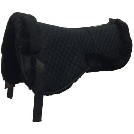 C.S.O. Amortisseur de dos mouton véritable - 2 tailles : cheval et poney - 8 couleurs différentes